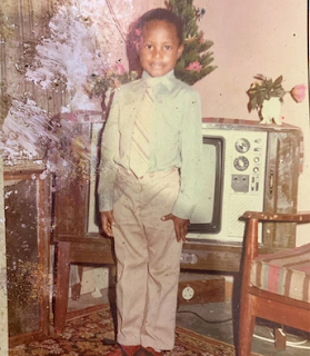 Guess the celebrity in this throwback photo