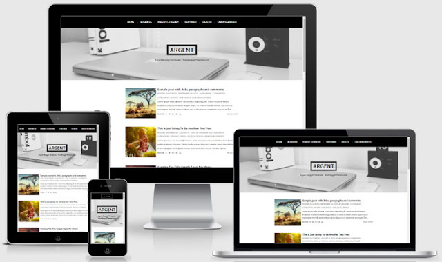 Argent Blogger Template
