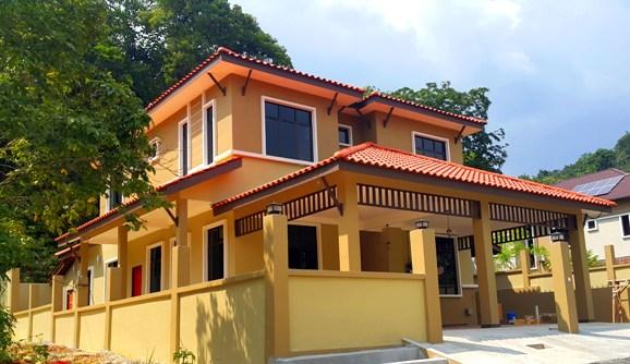 interior design malaysia Rumah banglo 2 tingkat moden pinjaman perumahan