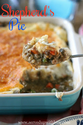 Easy Shepherds Pie recipe from Served Up With Love