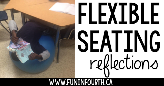 Take a look at the flexible seating options one 4th grade teacher added to her elementary classroom on a budget.  She shares some of her management tips too!