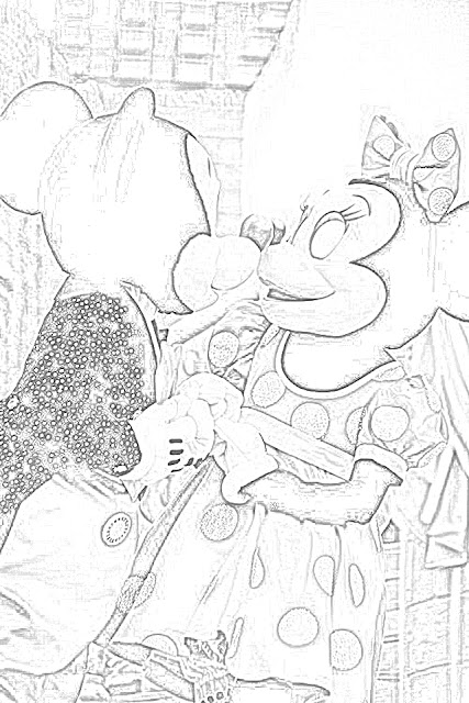 Mickey Mouse at Walt Disney World coloring.filminspector.com