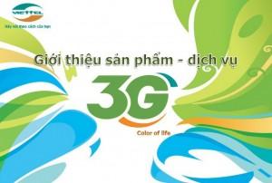 Cú pháp đăng ký 3G mạng Viettel