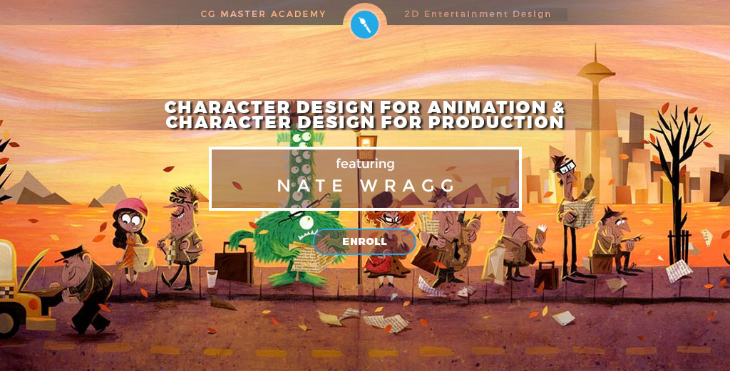 Character Design Course Singapore : Nate wragg art and illustration