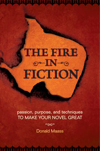 Portada de The Fire in Fiction, de Donald Maas