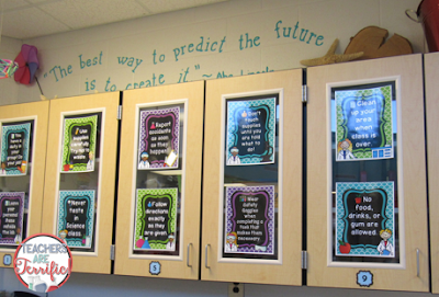 Bulletin Boards and More! Fabulous ways to add some science decor to your classroom! Includes poster ideas and board ideas!