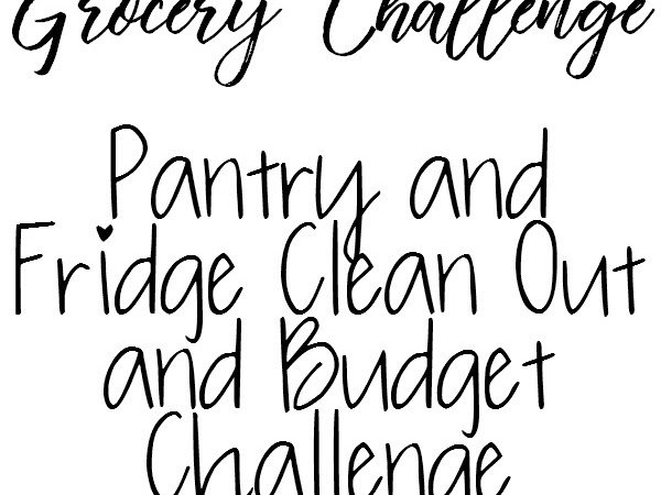 September Grocery Challenge