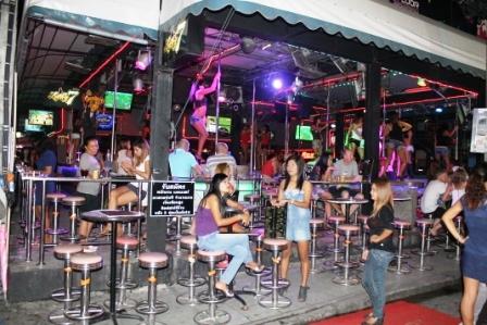 phuket, bangla street, night bar