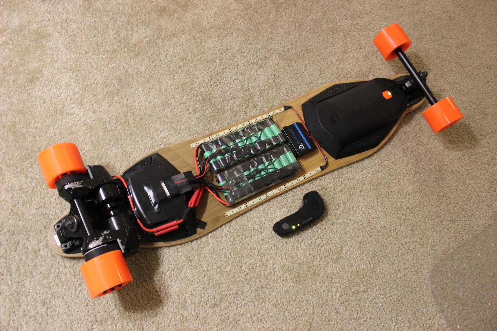 the resistor network long range electric longboarding