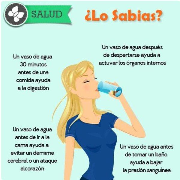Beber Agua para evitar el Estreñimiento