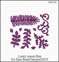 ODBD Custom Lovely Leaves Dies