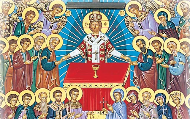 «Πως θα σταθούμε δίπλα στους Αγίους» - Παρέα της Τρίτης 1-11-2016
