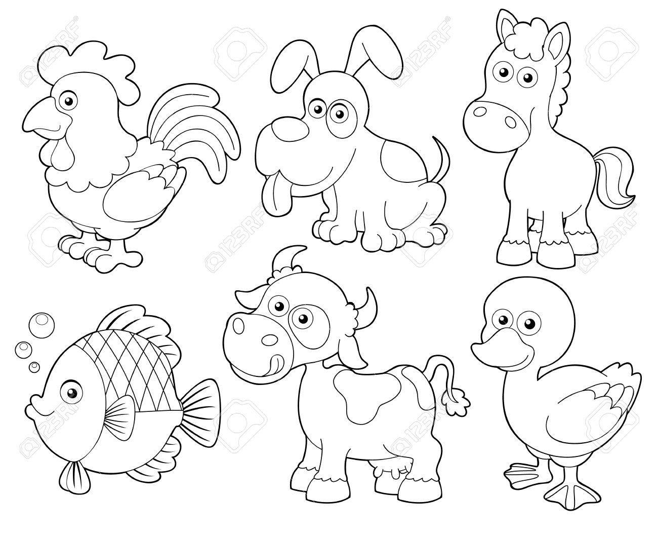 Los Animales Para Reconocer Y Colorear Sectoreducativo60