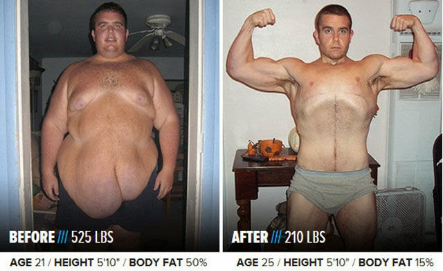 Amazing Examples of Total Body Transformations (48 pics)