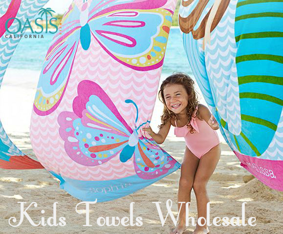 wholesale beach towels for kids