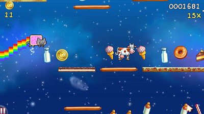 Nyan Cat - Lost in Space Screenshot 3