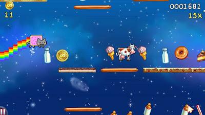 Nyan Cat - Lost in Space Screenshot 3