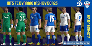 Kits Fc Dynamo Moskow 2016-2017 Pes 2013 by Don25
