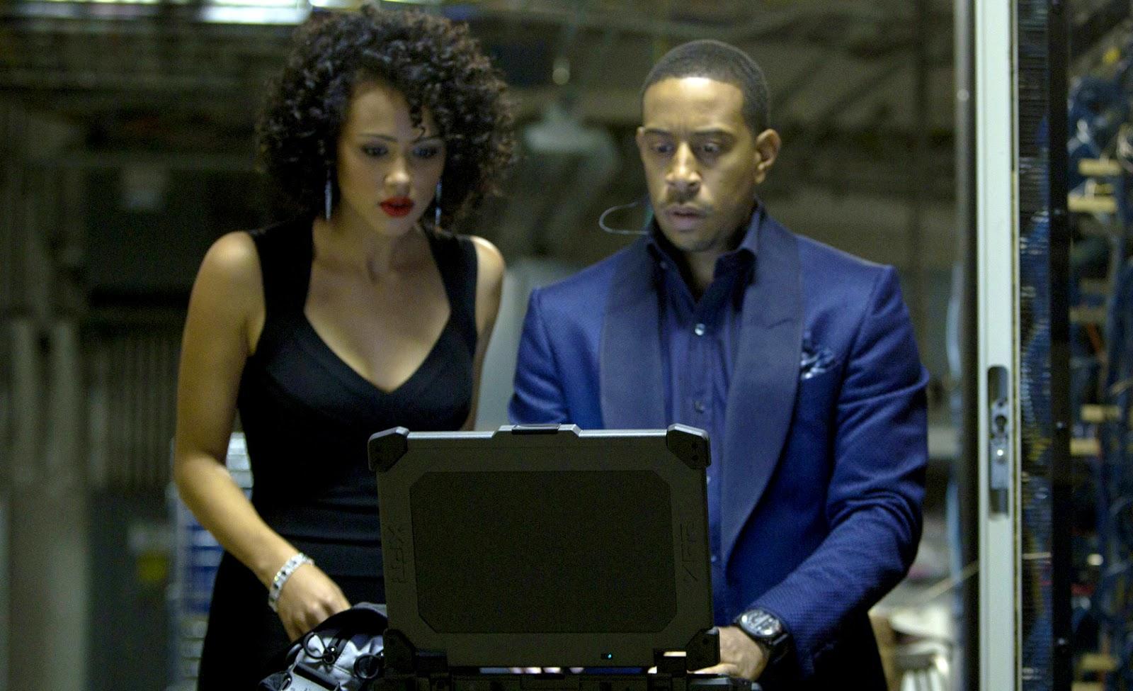 Nathalie Emmanuel (Game Of Thrones) şi Ludacris în Furious 7