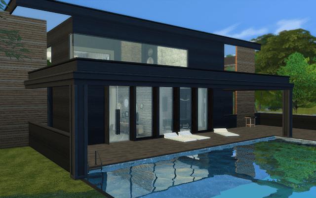 maison avec piscine sims 4