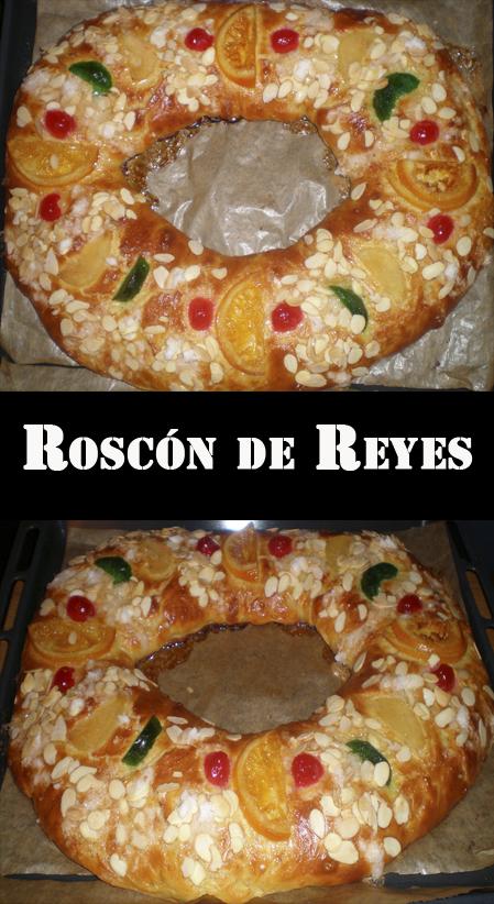 ROSCON DE REYES panificadora masas fruta escarchada la cocinera novata