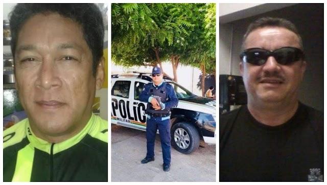 Três PMs são executados quando almoçavam em bar no bairro Manuel Sátiro, Fortaleza