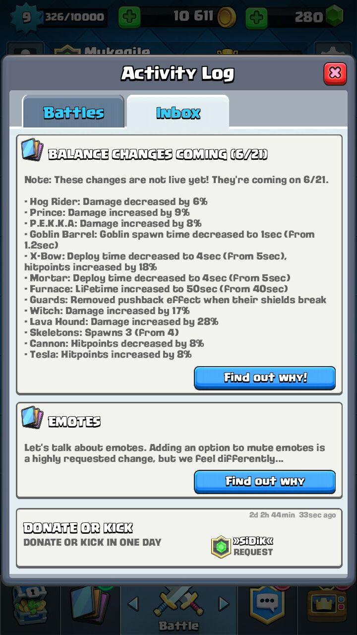 Artikel Game Dari Berbagai Platform Update Clash Royale 21