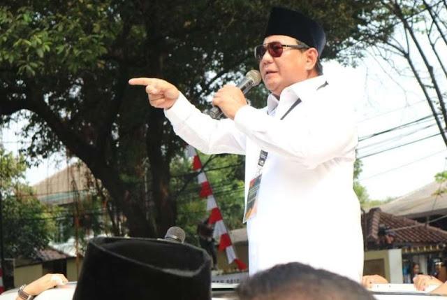 Prabowo: Saya Dinasihati Agar Tidak Keras Berpidato
