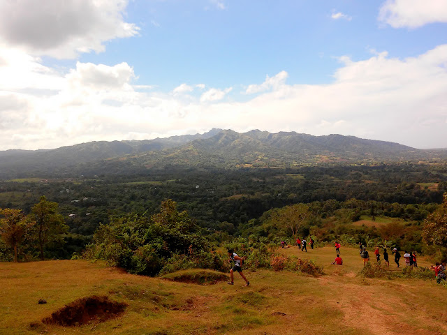 First Ascend point with Clear view of Mt. Batulao