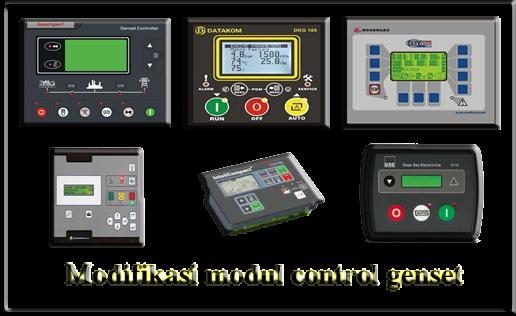 modifikasi modul control genset