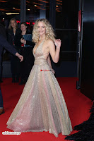 Jennifer Lawrence in a golde glittering gown at Red Sparrow Premiere in London ~  Exclusive Galleries 015.jpg
