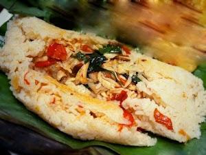 Resep Nasi Bakar Ayam Suwir