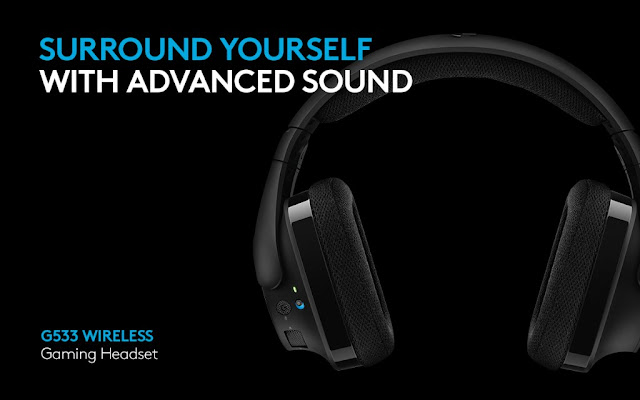Logitech G533 DTS 7.1 Surround Headset #TheLifesWay #PhotoYatra