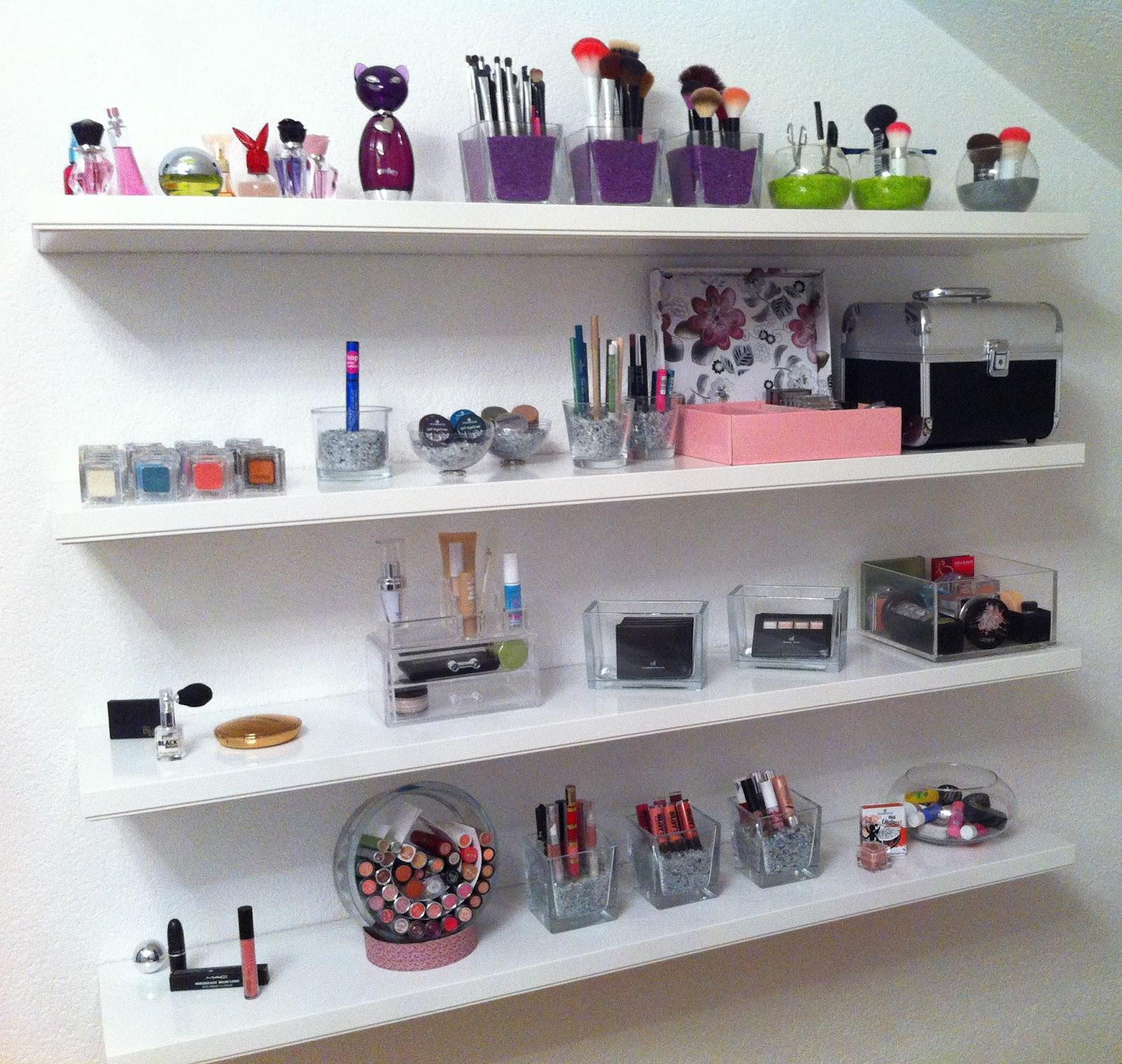 sabrina 39 s make up diary kosmetiksammlung berblick. Black Bedroom Furniture Sets. Home Design Ideas