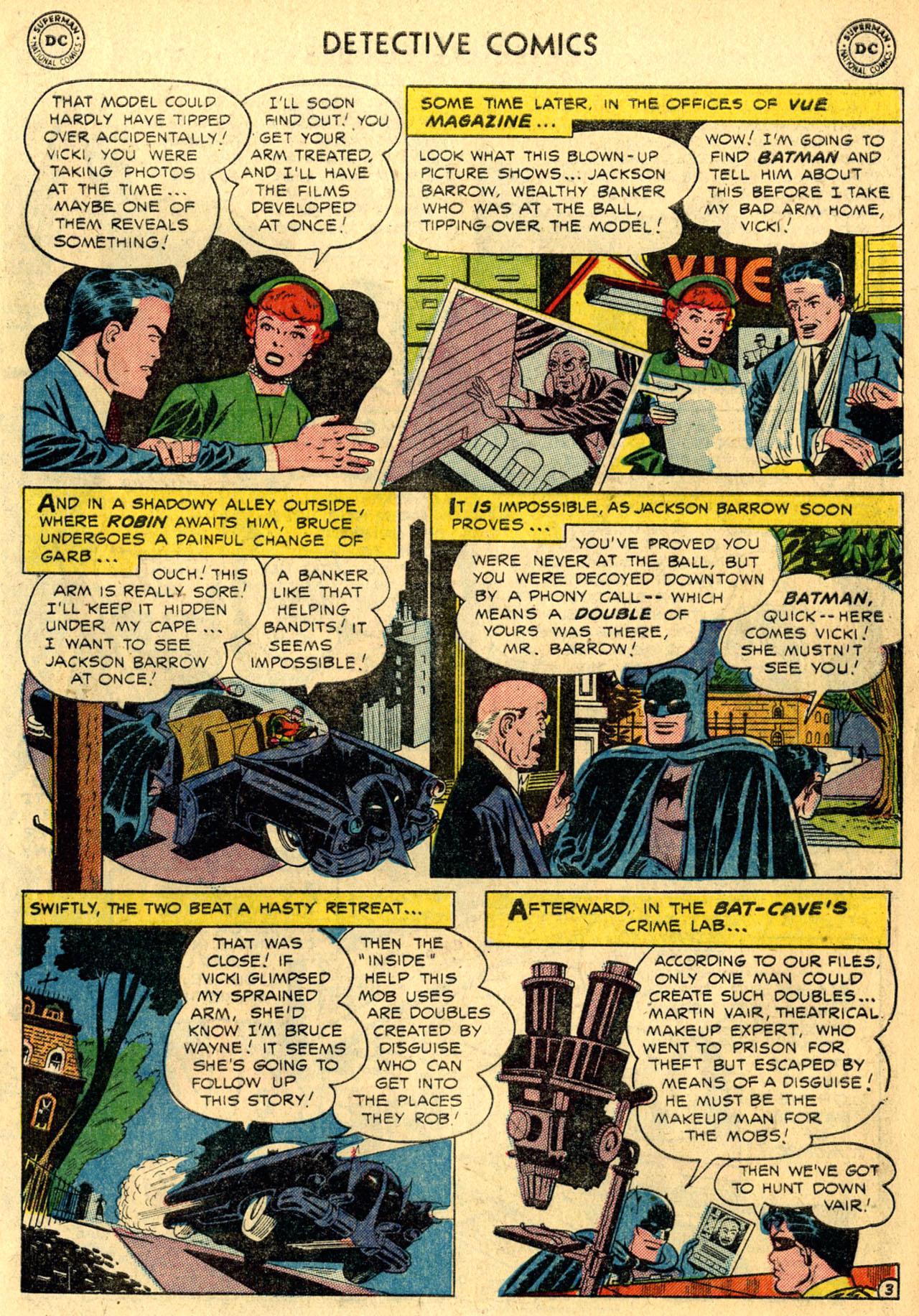 Read online Detective Comics (1937) comic -  Issue #216 - 5