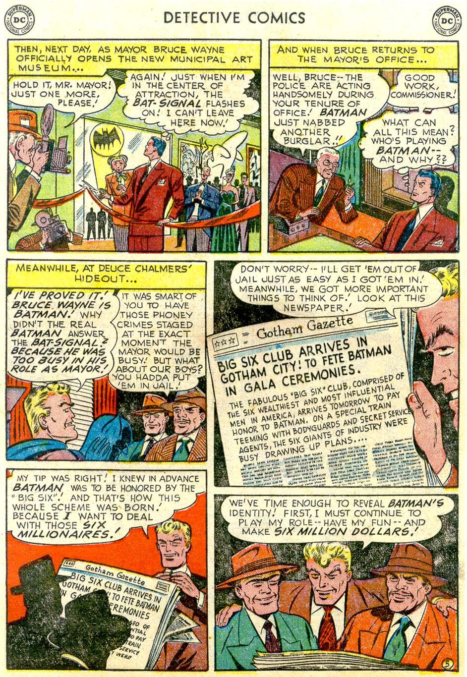 Read online Detective Comics (1937) comic -  Issue #179 - 7