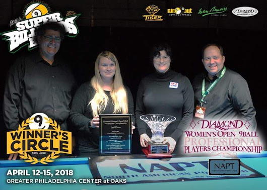 Corr Goes Undefeated in SBE Women's Open 9 Ball Pro Womens Championship