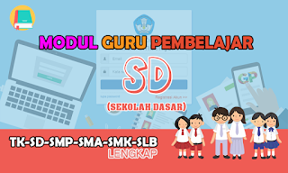 Download Modul Guru Pembelajar SD
