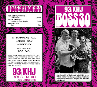 KHJ Boss 30 No. 165 - Robert W. Morgan with Mama Cass