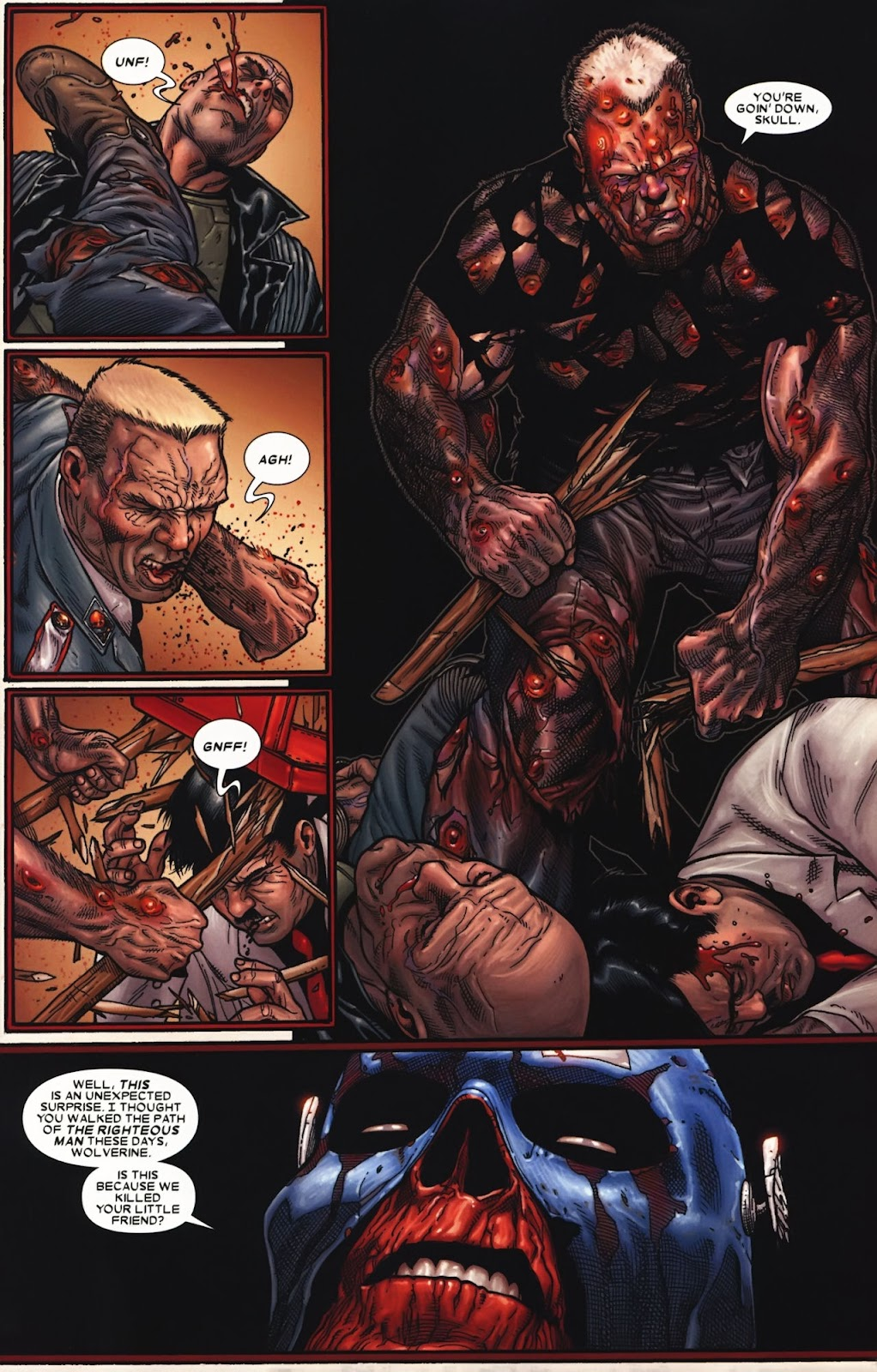 Read online Wolverine (2003) comic -  Issue #72 - 10