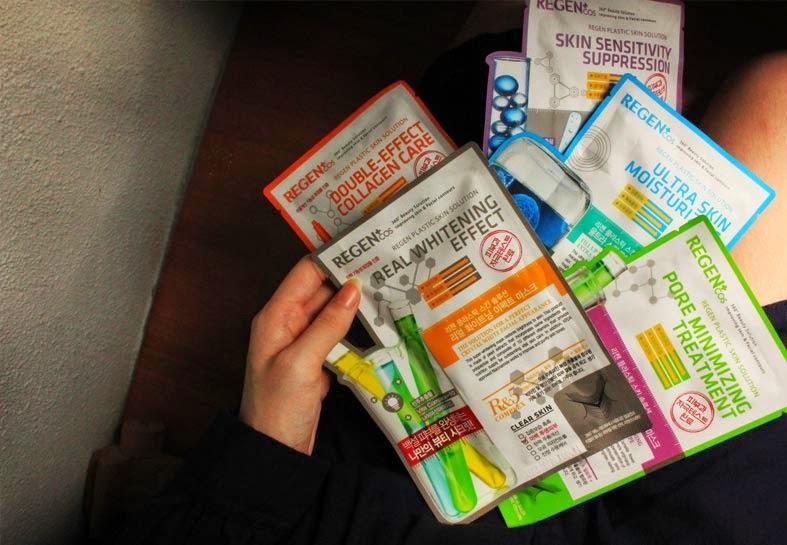 Regen Plastic Skin Solution Masks