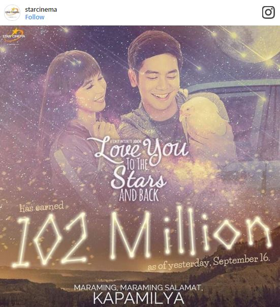 """Angel Locsin Praised Joshua Garcia, Julia Barretto and Driek Antoinette Jadaone For The Success Of 'Love You to the Stars and Back"""""""