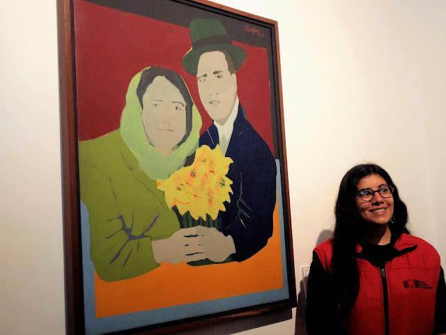 自殺したコロンビア人カップルの絵画|コロンビア国立博物館