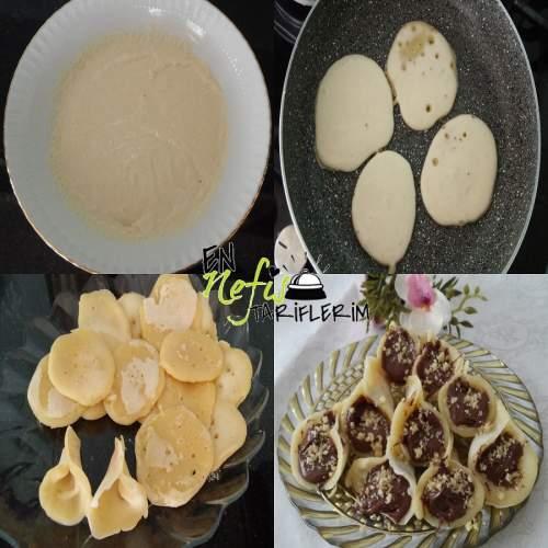 Nutellalı Külah Krep Nasıl Yapılır