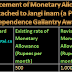 Enhancement of monetary allowance attached to Jangi Inam (a Pre- Independence Gallantry Award)