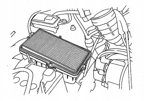 Elemen Filter Udara Versi Injeksi