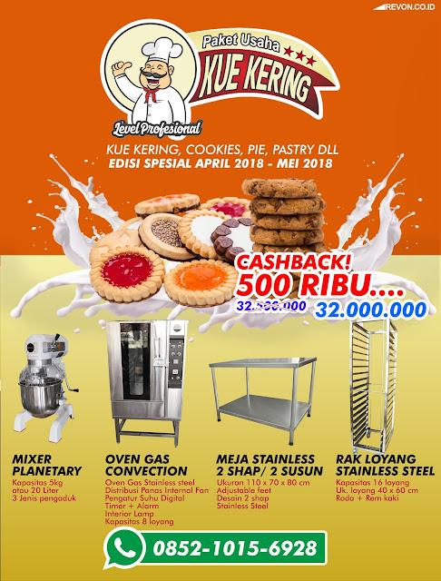 Paket Perlengkapan Bisnis Kue Kering