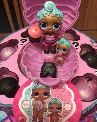 Имена кукол ЛОЛ Сюрприз из жемчужного фиолетового шара