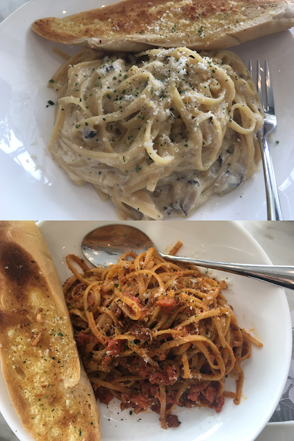 Relish Café pasta
