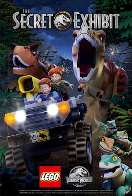 Lego Jurassic World The Secret Exhibit [2018] [DVDR R1] [Latino]